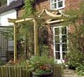 Dragon patio pergola kit.