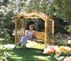 Arbours and swinging arbour kits.