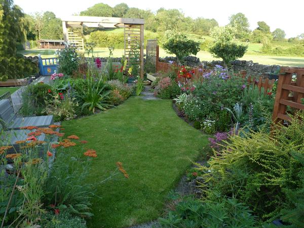 """Copyright image:Small garden design."""" title="""