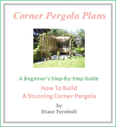 Copyright image: The corner pergola plans.