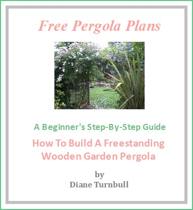 Copyright image: The free pergola plans.