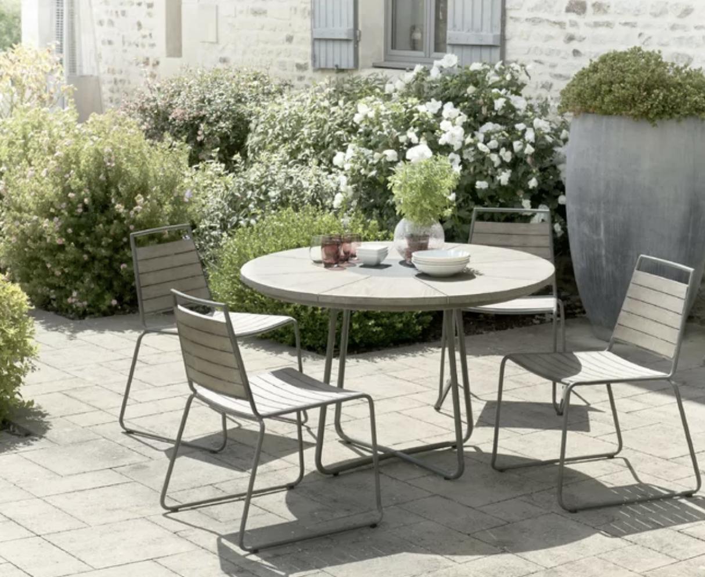 Dakota modern hardwood garden furniture.