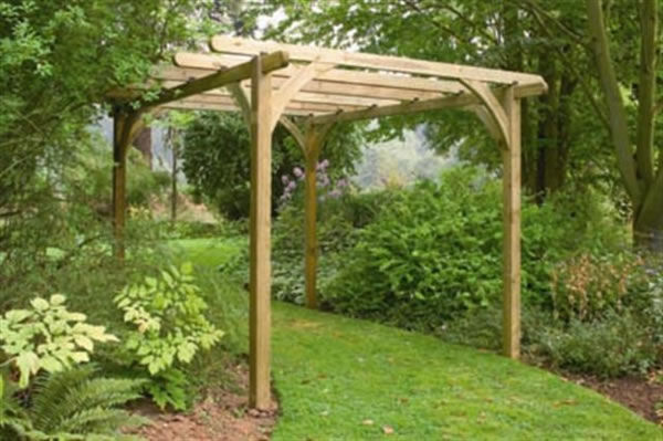 Forest Garden 'Ultima' pergola kit.