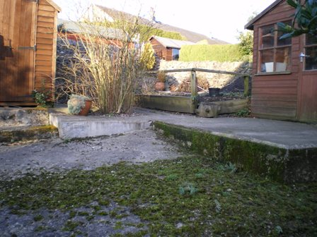 Copyright image: Garden design - before the garden makeover.