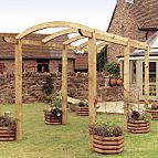Grange colonnade pergola kit.