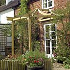 Grange dragon patio pergola.