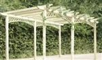 Traditional Hinckley pergola kit.