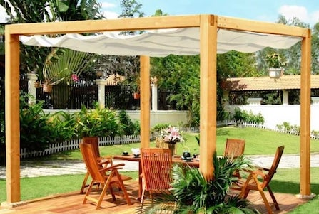 Outstanding Canopy For A Pergola Home Interior And Landscaping Oversignezvosmurscom