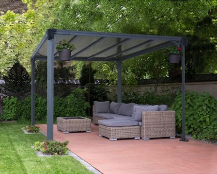 metal pergola kits. Black Bedroom Furniture Sets. Home Design Ideas