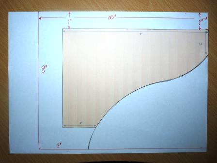 Copyright image: rafter tail template modifications Step 3.