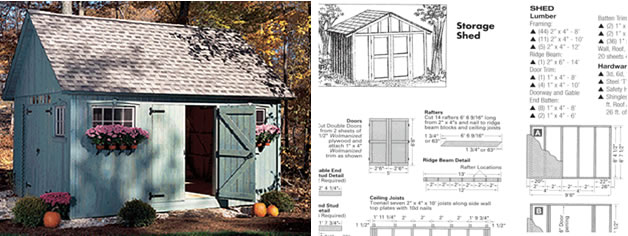 Wooden Storage Sheds Plans Storage Shed Plans Free