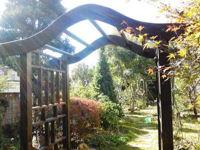 Rose Arch with Trellis