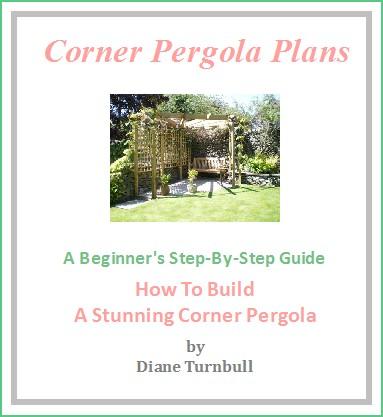 Copyright image: The corner pergola plans.