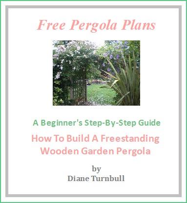 Copyright image: The free pergola plans.