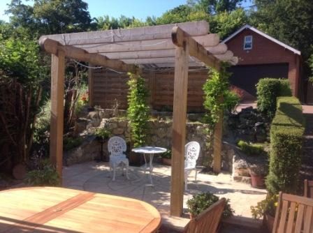 Copyright Image: Beautiful pergola for outdoor living.
