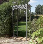Wrenbury metal arch.